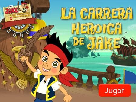 Jake y los piratas del país de Nunca Jamás - La carrera heroica de Jake