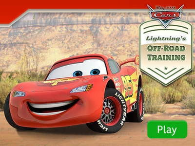 Cars - Lightning's Off-Road Training