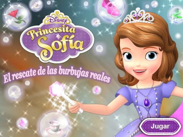 Princesita Sofía El Rescate De Las Burbujas Reales Disney Lol