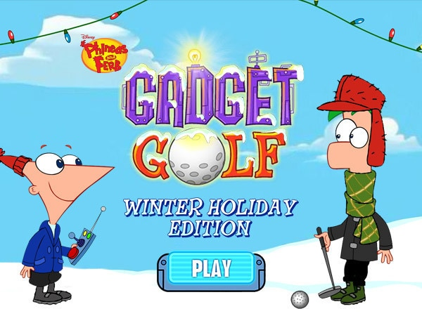 Gadget Golf Winter Holiday