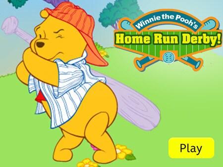 Winnie the Pooh - Home Run Derby