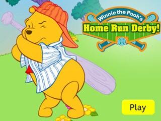 Games activities winnie the pooh winnie the pooh home run derby voltagebd Images