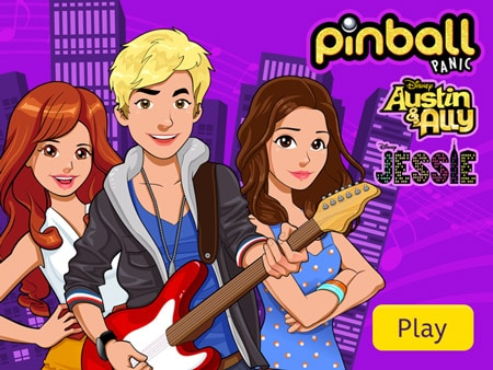 Austin Ally And Jessie Pinball Panic - Austin And Ally ...