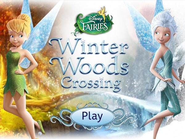 Winter Woods Crossing