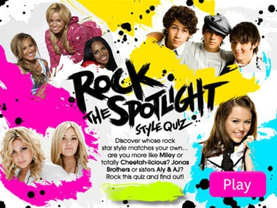 Rock The Spotlight Style Quiz
