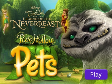 Tinker Bell and the Legend of the Neverbeast Pixie Hollow Pets