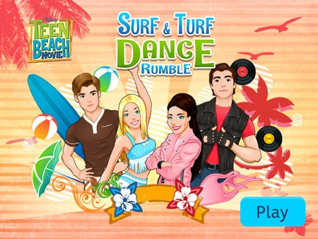 Teen Beach Movie   Surf U0026 Turf Dance Rumble