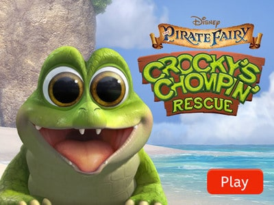 The Pirate Fairy: Crocky's Chompin' Rescue