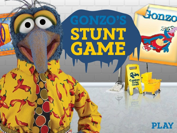 Gonzo's Stunt Game