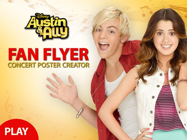 Austin & Ally: Poster Creator