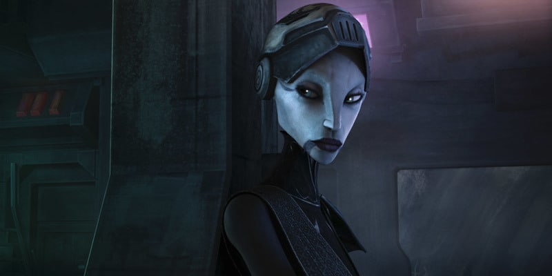 Asajj Ventress as a bounty hunteer
