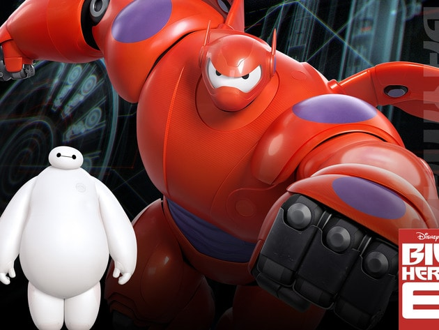 "Baymax (voiced by Scott Adsit) in the movie ""Big Hero 6"""