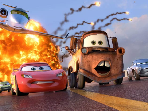 Lightning, Mater, and Finn McMissile are on the run from a couple of no-good lemons.