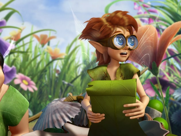 Clank and Bobble are off to show the other fairies what new tools they have for spring.