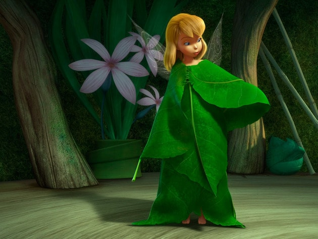 Tinker Bell realizes she needs to put her own spin on things, including her clothes.