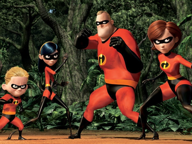 The Incredibles are united when they confront Syndrome.