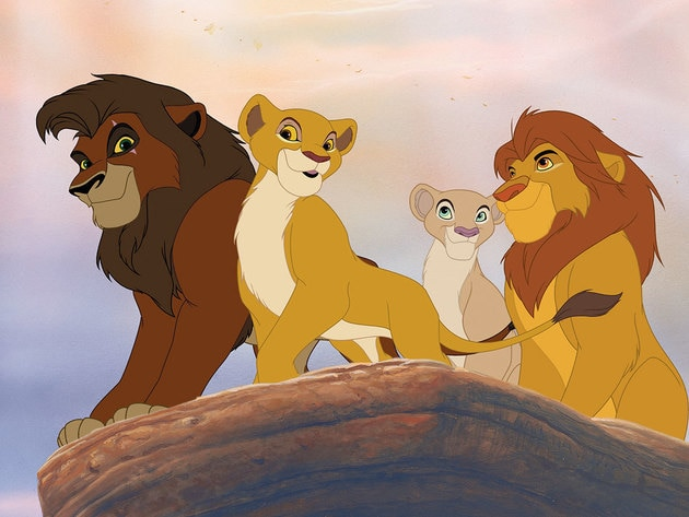 Nala, Simba, Kovu and Kiara spend time with Rafiki and look out over the pride.