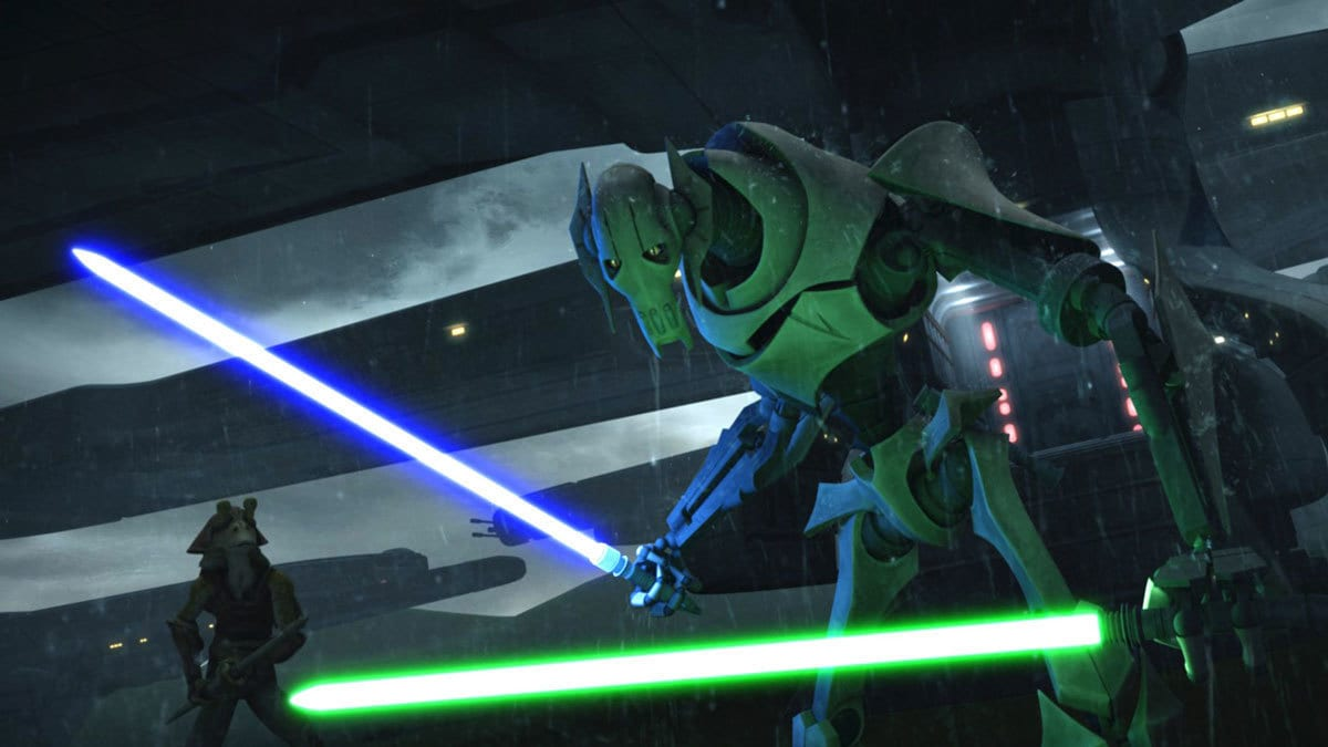 General Grievous during The Clone Wars