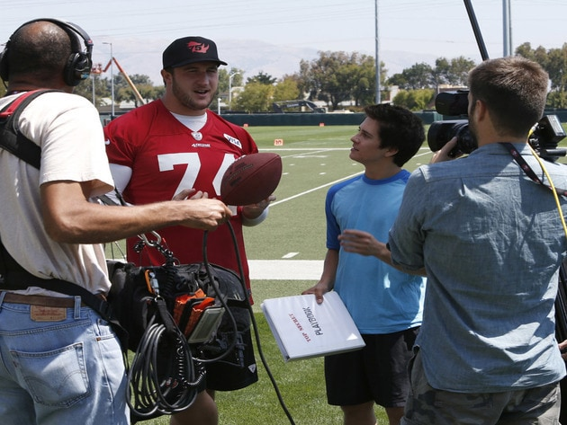 Chatting with Joe Staley