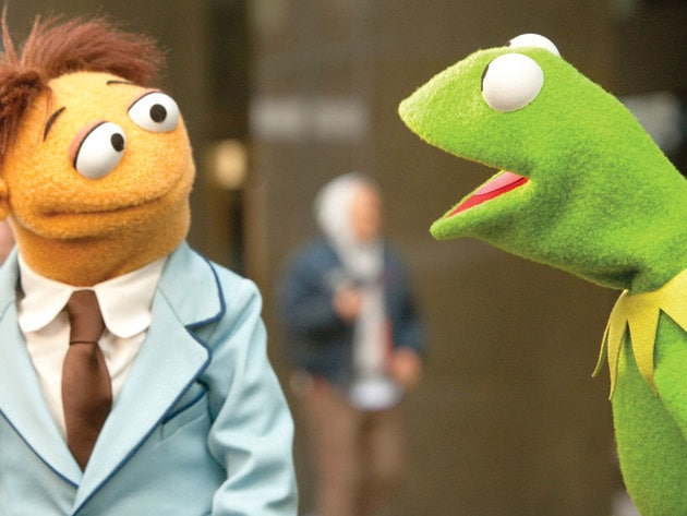 Muppet superfan Walter finally meets his idol, Kermit the Frog!
