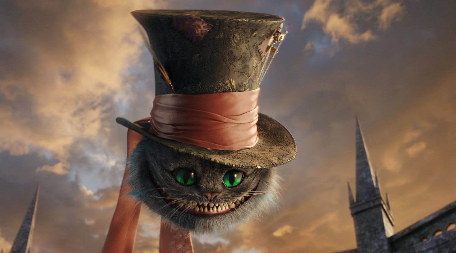 The Cheshire Cat in the Hat