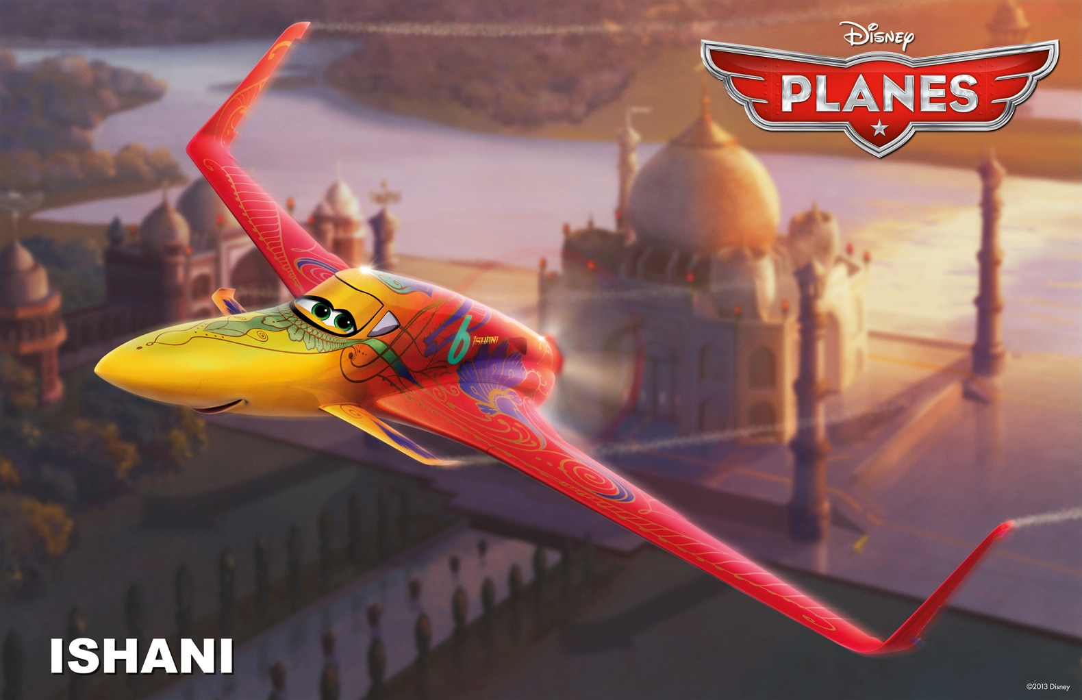 """The reigning Pan-Asian champion from India, Ishani is easy on the eyes, but ruthless in the skies.  From the movie """"Planes"""""""