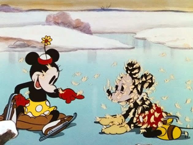 Mickey and Minnie know that sometimes the little moments are the ones you cherish most.