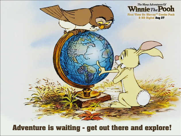 Adventure is waiting-get out there and explore!
