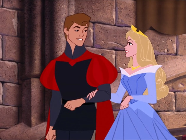 Prince Phillip and Briar Rose: Meant to be.