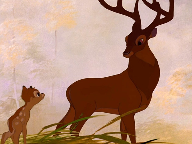 The Great Prince gets to know Bambi.