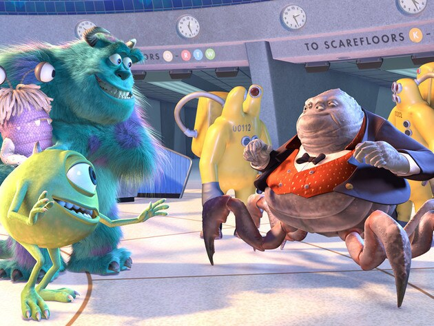 The perfect excuse to bring your cousin's sister's daughter to Monsters, Inc.