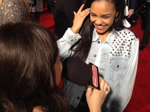 China Anne McClain at Captain America: The Winter Soldier
