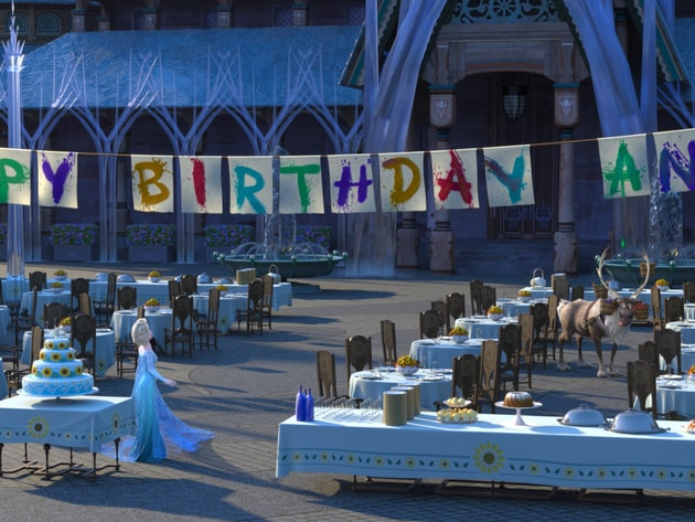 It's Anna's birthday and Elsa and Kristoff are determined to give her the best celebration ever i...