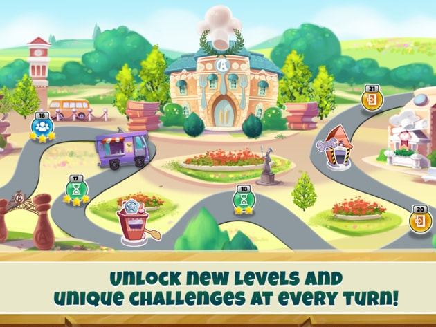 Unlock new levels and unique challenges at every turn!