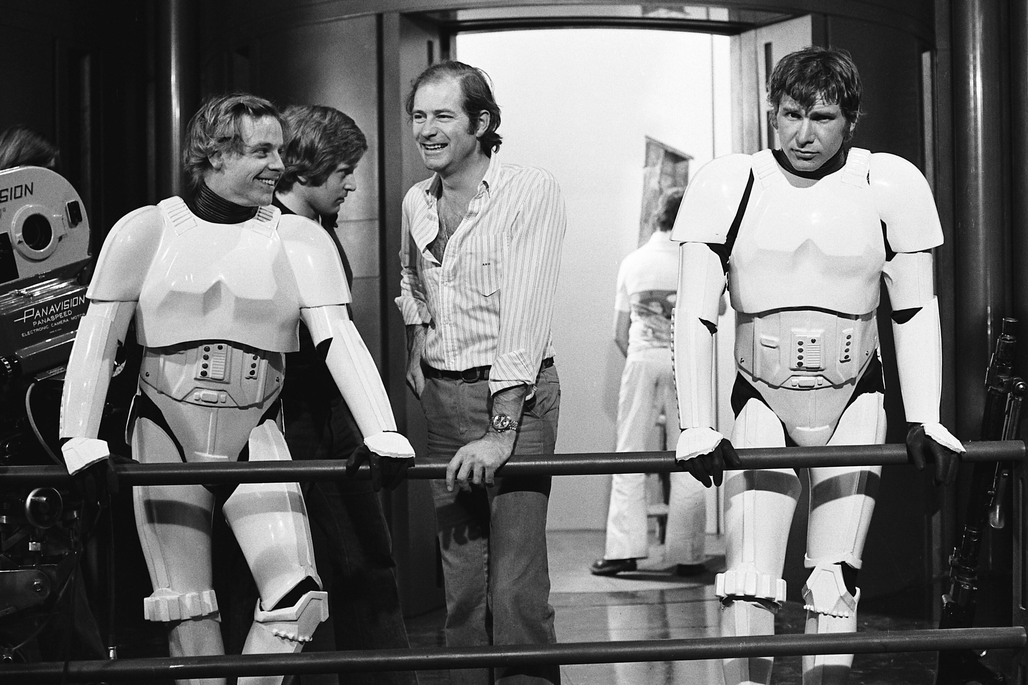 Panavision Camera Star Wars : Star wars a new hope behind the scenes gallery starwars