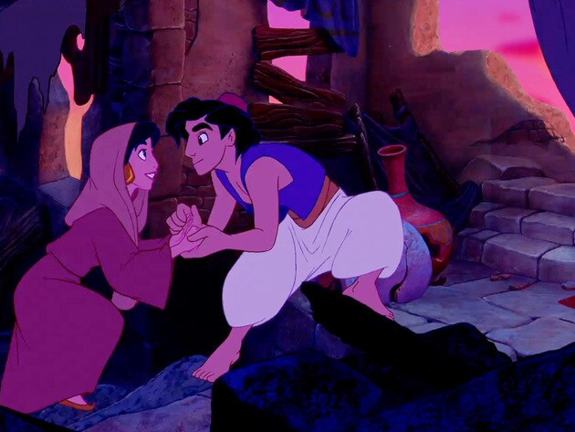 After a meeting at the marketplace, Jasmine and Aladdin learn that they have more in common than ...
