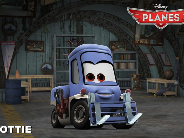 Dottie is a forklift who co-owns and operates Chug and Dottie's Fill 'n Fly service station. As D...