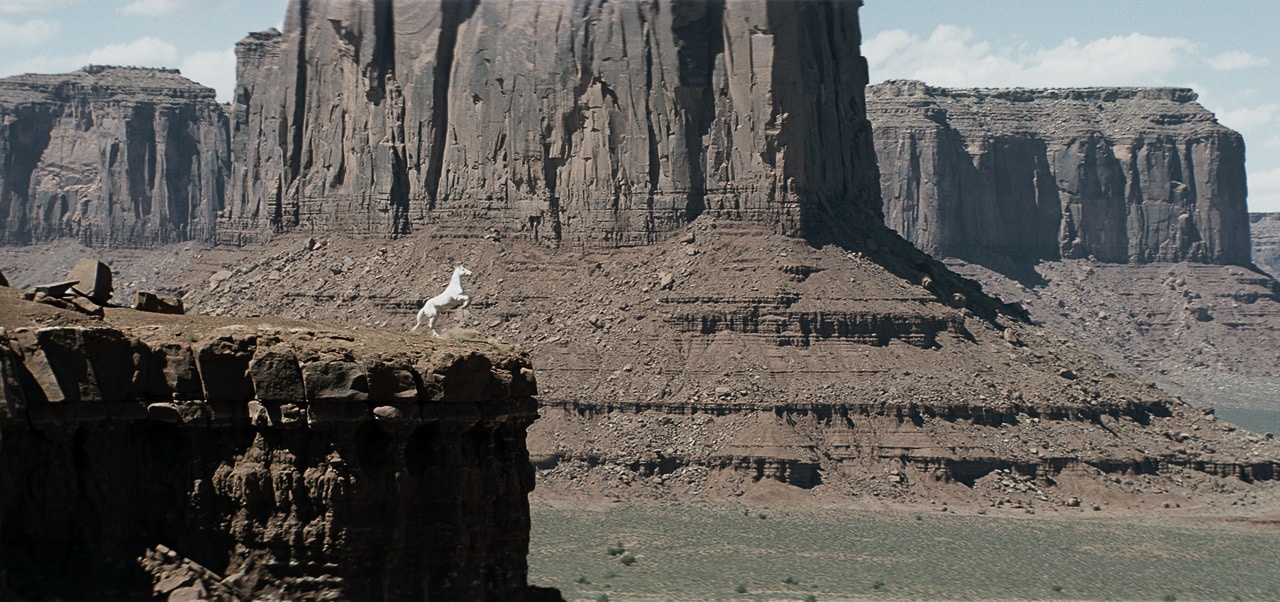 """Image of Silver from the movie """"The Lone Ranger"""""""