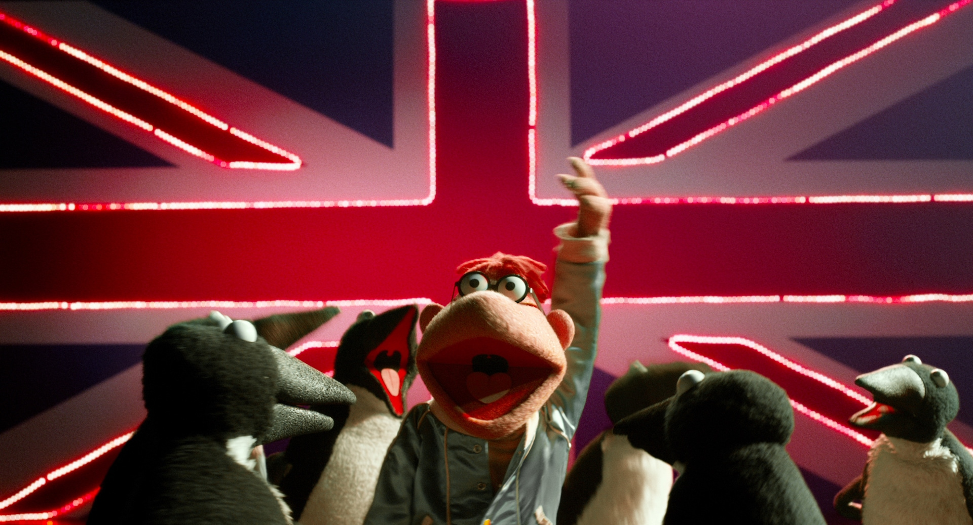 The muppets have fun wherever they are.