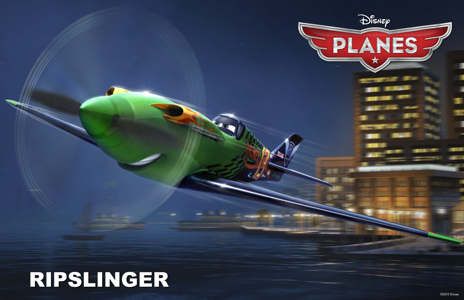 """Ripslinger from the movie """"Planes"""""""