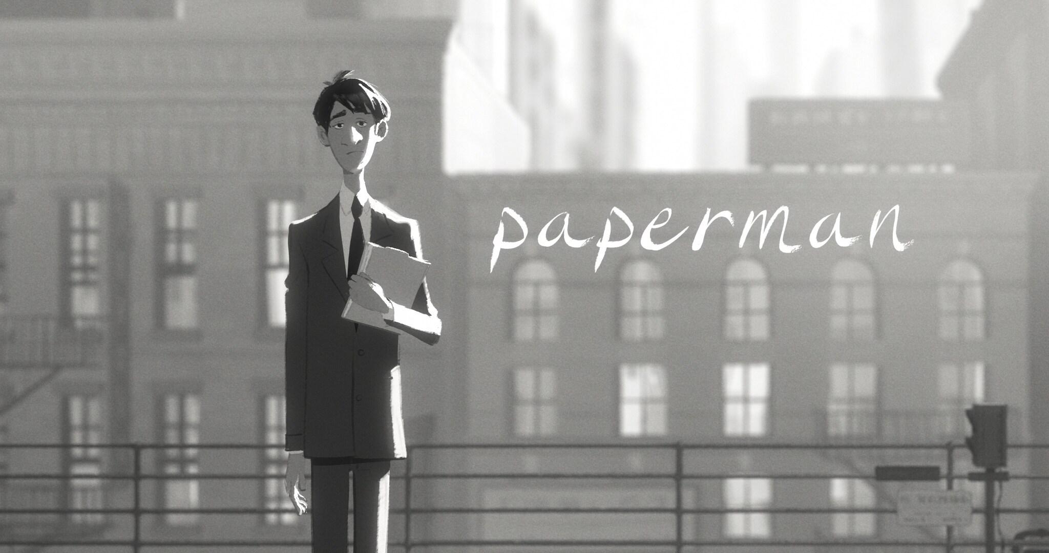 Paperman - Walt Disney Animation Studios Short Films Collection