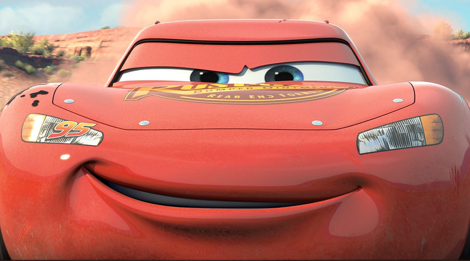 Rust Eze Lightning Mcqueen Cars