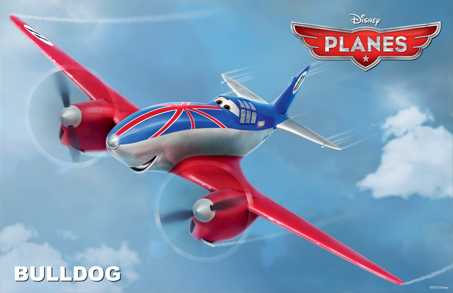"""Bulldog has been racing longer than every other racer on the circuit. From the movie """"Planes"""""""