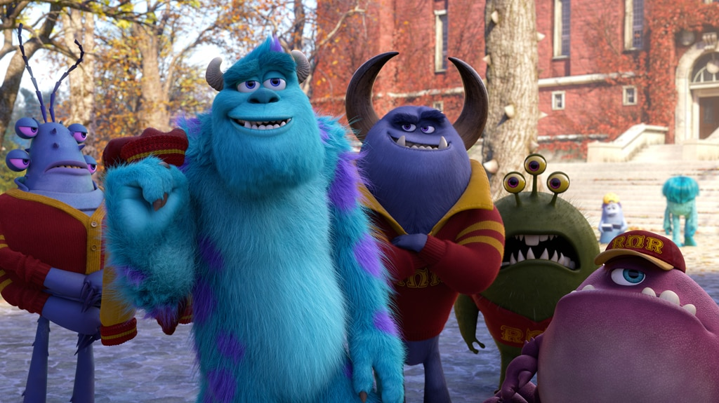 """Sulley joins Roar Omega Roar fraternity, from the movie """"Monsters University"""""""