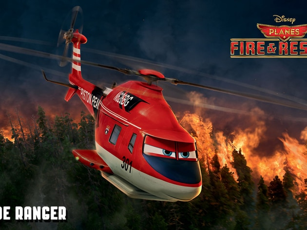 Blade Ranger (voice of Ed Harris), a veteran fire-and-rescue helicopter, heads up the Piston Peak...