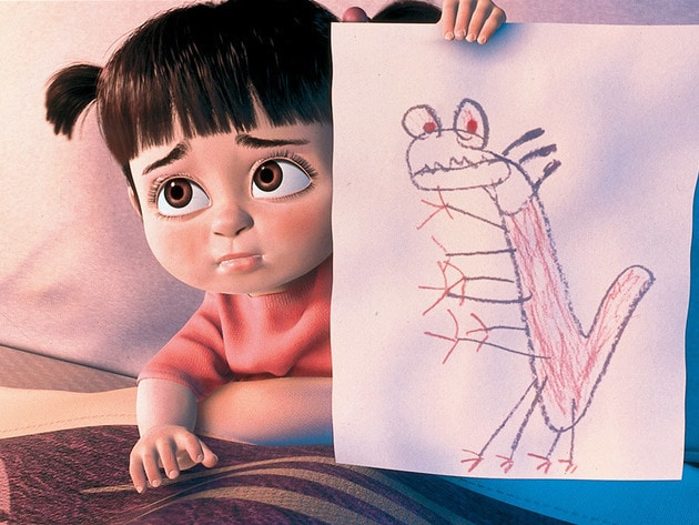 Sulley finds out that Randall is the monster assigned to scare Boo in the human world.