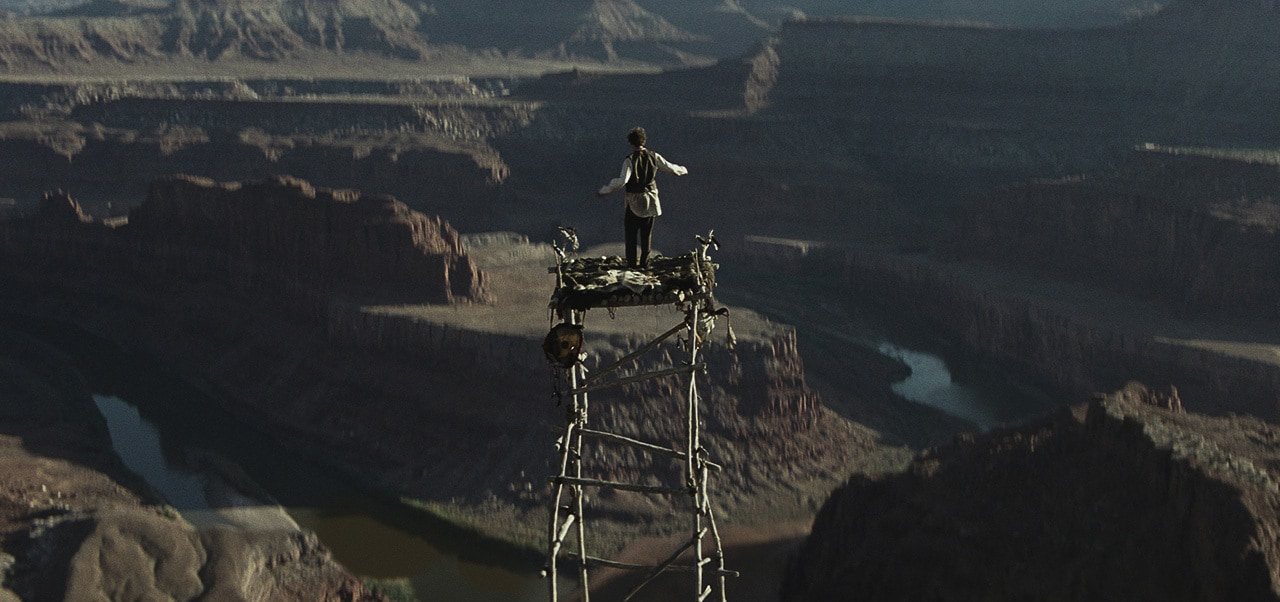 """Image of the spirit tower from the movie """"The Lone Ranger"""""""