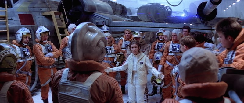 Princess Leia and the Rebel Alliance