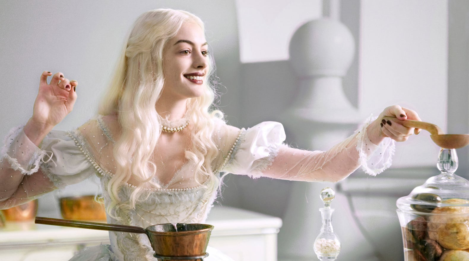 The White Queen in the Kitchen