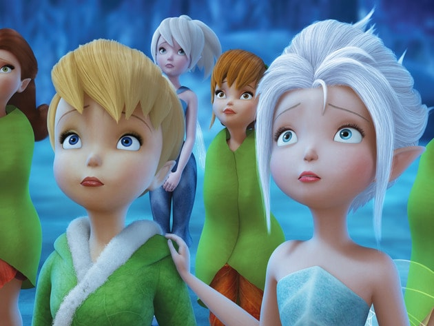 Tink and Peri hope that the freeze has spared the Pixie Dust Tree.
